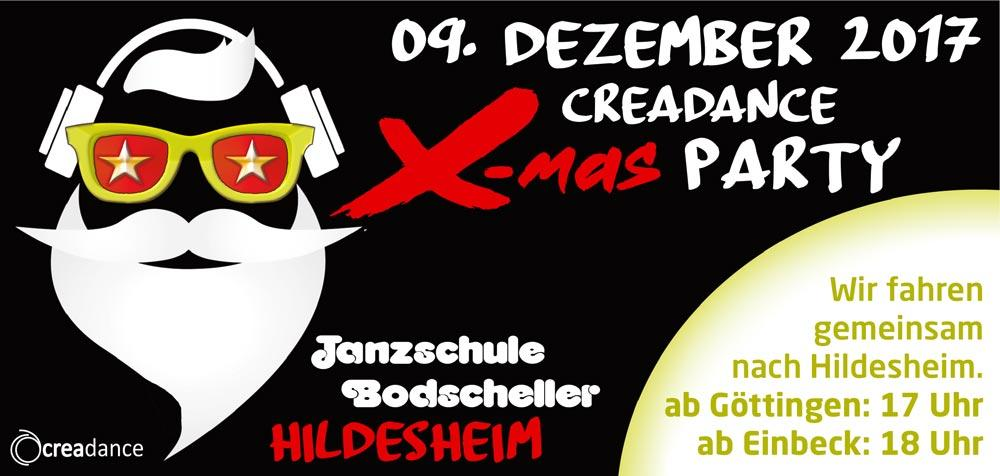 Crea Dance X-Mas-Party in Hildesheim